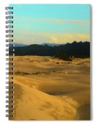 Afternoon At Oregon Dunes Spiral Notebook