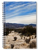 Afternoon At Red Rock Spiral Notebook