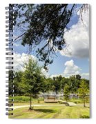 Afternoon At The Park Spiral Notebook