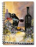 Bottles Of Time Spiral Notebook