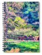 Afternoon Ride Spiral Notebook
