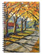 Afternoon Shadows By Prankearts Spiral Notebook
