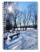 Afternoon Sun Spiral Notebook