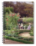 Afternoon Tea By The Laurel Arch Spiral Notebook