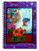 Afternoon Tea By The Window Spiral Notebook