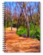 Afternoon Walk Spiral Notebook