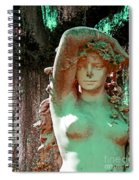 Afton Plantation Garden Statuary  Spiral Notebook