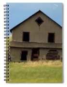 Against The Wind Abandoned Homestead Spiral Notebook