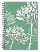 Agapanthus Breeze Spiral Notebook