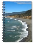 Agate Beach At Patricks Point Spiral Notebook