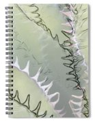 Agave Abstract Spiral Notebook