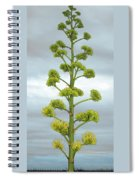 Agave Flower Spike Spiral Notebook