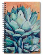 Agave With Pups Spiral Notebook
