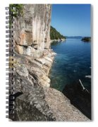 Agawa Pictographs Spiral Notebook