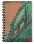 Aged Copper Theater Spiral Notebook