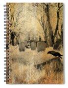 Aged Infrared Spiral Notebook