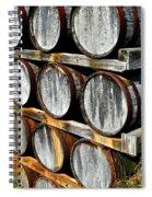 Aged Wine Spiral Notebook
