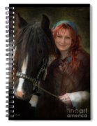 Agents Of Fortune Spiral Notebook