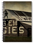 Aggie Barn 5 - Whoop Spiral Notebook