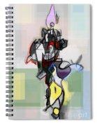 Self-renewal 12f Spiral Notebook