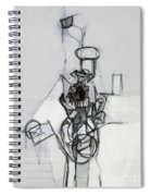 Self-renewal 14b Spiral Notebook