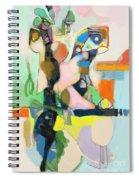 Self-renewal 17e Spiral Notebook