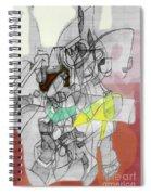 Self-renewal 9b Spiral Notebook
