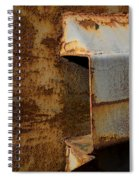 Aging With Rust Spiral Notebook