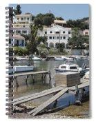 Agios Stefanos Corfu Spiral Notebook