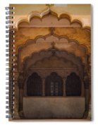 Agra Fort Arches Spiral Notebook