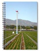 Agricultural Windmills Spiral Notebook