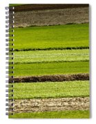 Agriculture Layers Fields And Meadows Spiral Notebook