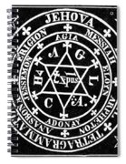 Agrippa (63-12 B Spiral Notebook