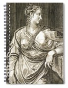Agrippina Wife Of Tiberius Spiral Notebook