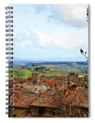 Ahh Tuscany Spiral Notebook