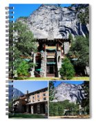 Ahwahnee Hotel In Yosemite National Park Spiral Notebook