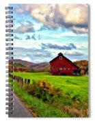 Ah...west Virginia Painted Spiral Notebook