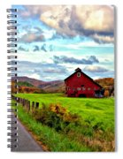 Ah...west Virginia Painted Spiral Notebook