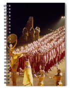 Beautiful Aida Spiral Notebook