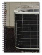 Air Conditioner Spiral Notebook