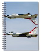 Air Force Thunderbirds Spiral Notebook