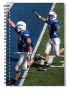 Air Force Touchdown Spiral Notebook