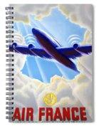 Air France Spiral Notebook
