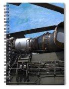 Air - Helicopter - Ch-54 Skycrane - Tarhe  Spiral Notebook