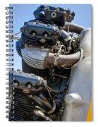 Aircraft Engine 3 Spiral Notebook