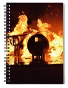 Airforce Fire Deparment Training Spiral Notebook