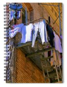 Airing Out The Drawers By Diana Sainz Spiral Notebook