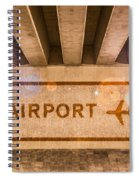 Airport Directions Spiral Notebook
