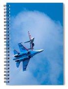 Airshow St Petersburg Russia Part 2 Spiral Notebook