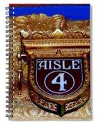 Aisle 4 Spiral Notebook